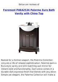 Foremost Palermo Bathroom Vanity by Emejing 1 Euro Bath Contemporary Transformatorio Us