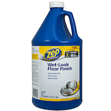 Zep Floor Finish On Rv by Zep Commercial Zep Wet Look Floor Finish 3 78l The Home Depot Canada