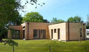 exceptionnel maison bois en kit toit plat 0 prix