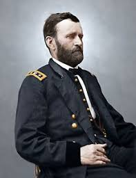 Image Is Loading General Grant Color Tinted Photo Civil War 06946