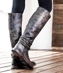 eva black lux tall boots women bed stu