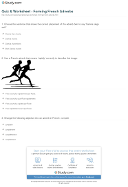 Quiz & Worksheet - Forming French Adverbs | Study.com 28 Adverb Of Manner Worksheets Grammar Worksheets Gt Good Action Verbs Colonarsd7org Resumeletter Writing Verb For Rumes Pdf The Problems Of Adverbs In Zulu Chapter 8 Writing Basics What Makes A Good Stence 44 Adverbs To Powerup Your Resume Tips Semicolons And Conjunctive Lesson Practice Games Anglais 2 Rsum Hesso Studocu Kinds Discourse Clausal Syntax Old Middle
