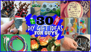 30 DIY GIFT IDEAS FOR GUYS They Will Actually Like