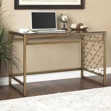 Tempered Glass Computer Desk by Best 25 Glass Desk Ideas On Pinterest Glass Top Desk Home