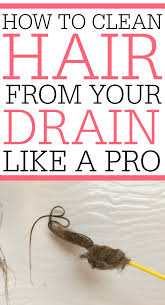 Unclogging A Bathtub Drain With A Snake by How To Get Hair Out Of Drain Like A Pro Frugally Blonde