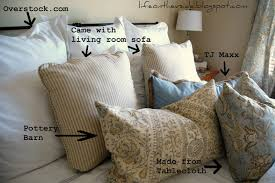 On The V Side: Master Bedroom Makeover: Breakdown Pottery Barn Slate Blue Throw Pillows Miscellaneous From Alex S On And Throws Clearance Sale Tips Ideas Pillow Catstudio Target Seasonal Pillows For A Fraction Of The Price Thrifty Decor Chick Living Room Charcoalgreypillows Thumb Decorative For Christmas Would Love To Have All These On V Side Master Bedroom Makeover Breakdown Dont Disturb This Groove Simple Holiday Decorating Daybeds Wonderful Daybed Cover Sets Mattress Budget Archives Page 2 3 The Happy Housie Hammers And High Heels My Easy Yearround Update Summer