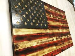 Rustic American Flag Decor Graceful Elegant Pictures Texas Crafts Wood Flags Diy