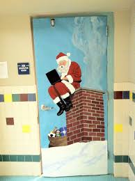 Easy Office Door Christmas Decorating Ideas by Christmas Christmas Door Decorating Ideas On Pinterest Easy