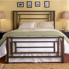 Macys Metal Headboards by Bedroom Bed Frame With Headboard And Footboard Bed Furniture