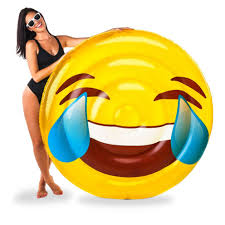 PHOTO A Laughing Emoji Pool Float Is For Sale On Target Just