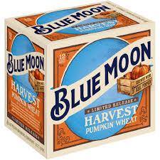 Harvest Moon Pumpkin Ale by Blue Moon Seasonal Harvest Pumpkin Wheat Ale 12 Pack 12 Floz