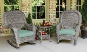 Sea Pines 3pc Rocker Set - Driftwood Wicker