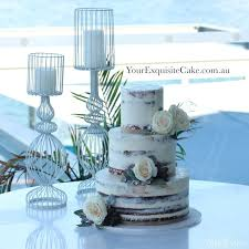 Naked Cake And Candles