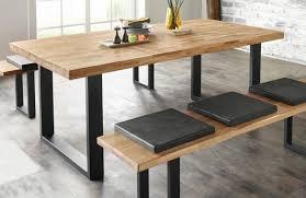 esstisch küchentisch tisch eiche massiv 200x100cm 14372