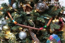 Wooden Bead Garland For Christmas Trees Cinnamon And Wood