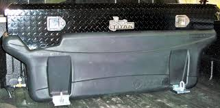 100 Truck Tool Boxes Black Diamond Plate Compact Locking Aluminum Box 9901180