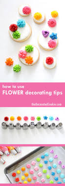 How To Use The Russian Flower Decorating Tips On Cupcakes Or Cookies