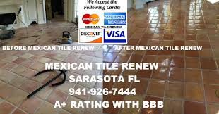 clean and seal your mexican tile floor to like new appearance with
