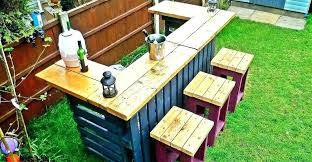 Furniture Made Out Of Wooden Pallets Door Outside Outdoor From Furni