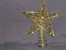 8ft Christmas Tree Uk by Christmas Decorations 30cm Large Gold Star Swirls Christmas Tree