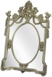 casa padrino barock spiegel silber 105 x h 160 cm garderoben spiegel wohnzimmer spiegel prunkvoller wandspiegel im barockstil