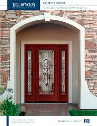 Custom Wood Exterior Doors 1381 Glass Panel Reliable And Energy
