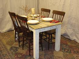 Rustic Dining Room Decorations by Contemporary Ideas Small Rustic Dining Table Valuable Design