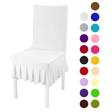 Stretchy Spandex Ruffled Skirt Short Dining Room Chair Covers Washable  Removable Seats Protector Slipcovers White Details About Pleated Skirt Stretch Chair Cover Hotel Wedding Ding Room Detachable Slipcover Parsons Chair Slipcover Tutorial How To Make A Parsons Hickory Chairs 10 Table Covers For With Stretchy Short Washable Protector Seat Party Restaurant Banquet Home Decor Red Black Intl Decorating Vivacious Slipcovers Great Custom Awesome Part 3 Custom With Decorative Back And Serta Relaxed Fit Smooth Suede Fniture 2pack Dingparsons Slipcovers For Chairs Youll Love In 2019 Wayfair Sure Pique Skirted Beiggreen St James Fixed Set Of 2