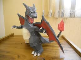 Awesome Shiny Charizard Papercraft