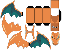 Charizard Pt1 POKEMON By JetPaper