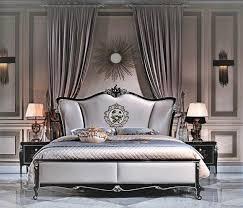 details zu bett 2x nachttisch 3 tlg schlafzimmer set design modern luxus schlafzimmer