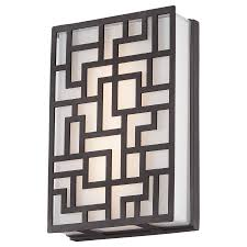 necklace outdoor led wall sconce by george kovacs p1221 287 l