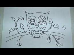 480x360 Learn How To Draw And Color A Cute Owl