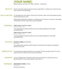 Traditional Resume Template Free Examples And Builder Basic Format Maker