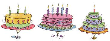 Cake clipart cake decorating Pencil and in color cake clipart