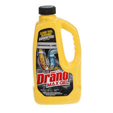 Diy Drano For Bathtub by Drano 42 Oz Drain Max Gel Clog Remover 22118 The Home Depot