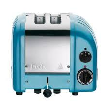 Dualit NEW GEN 2 Slice Azure Blue Toaster 27167