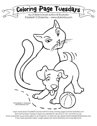 Still Following The Advice Of New York Childrens Book Editor This Week I Include A Cat And Puppy Aww Click Image To Open Print