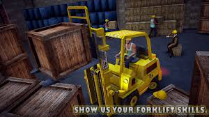 100 Forklift Truck Simulator Real City Transport 3D
