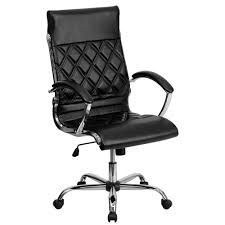 Serta Executive Chair Manual by Serta Black Bonded Leather Executive Office Chair 43676 The Home