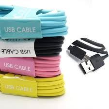 Find More Mobile Phone Cables Information about 1M Colorful USB Data Sync Charger Cable Micro USB