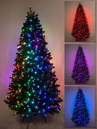 Tabletop Fibre Optic Christmas Tree by Multi Colour U0026 Function Dancing Light Fibre Optic Tree 1 8m