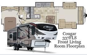 Keystone Community Blog Cougar 337fls Front Living Room Regarding Campers With