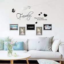 details zu wandtattoo wandsticker bild aufkleber home küche wohnzimmer familie sticker