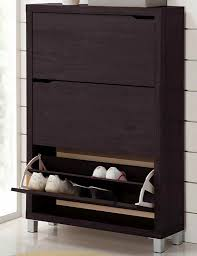 Baxton Studio Gosford Shoe Cabinet by Cabinet With Doors Rubbermaid Commercial Doubledoor Storage