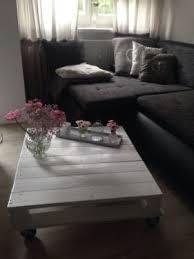 tisch palette weiß wohnzimmer palette