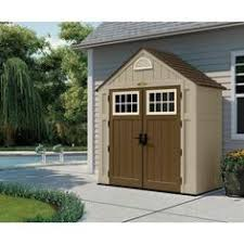 rubbermaid big max junior 3 ft 5 in x 7 ft storage shed rust
