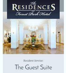 100 Residences At Forest Park The At Hotel Apt Twitter
