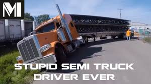STUPID Semi Truck Driver Ever - POOR Truck Driving Skills ... Nicks Fire Electrical Safety Security Blog Despite Numerous Stupid And Weird Drivers Of Kentucky 1 Youtube Truck Smashes Into Overpass Clipzuicom Weeks World Day For Farmed Animalstruck Driver Runs Over Activists Bangshiftcom The Factory Wars Are Rookie Facing Camera Page 6 Truckersreportcom Trucking Forum Worlds Most Stupid Truck Fails Craziest On Road 2017 Crazy Dumb Dump Destroys Highway In Epic Crash Saudi Hgv Traing Network Hgv_network Twitter Stuck On Extreme Bad Semi Offroad 2nd Dumbest Vehicle Ever Made Introducing Drivers Driving Fails Caught Camera