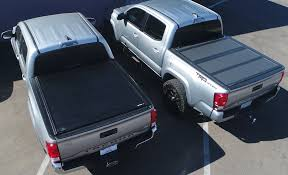 100 Access Truck Covers Soft Tri Fold Bed Cover For 16 17 Toyota Tacoma Rough Metal